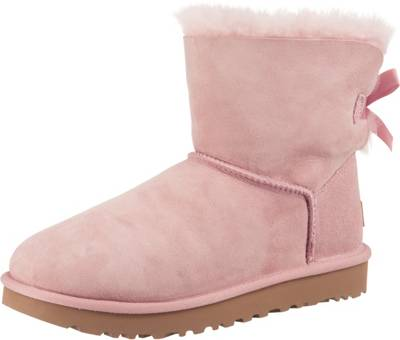Ugg Boots Rose Rose suede Mini bow 38 Stiefel Stiefeletten Schuhe Chelsea Boots