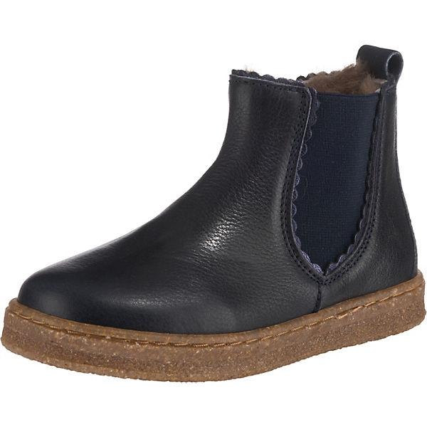 Bisgaard Baby Chelsea Boots Für Mädchen Blau Mirapodo