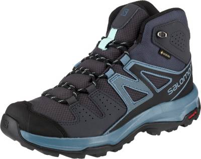 Salomon, LEIGHTON MID GTX® W Trekkingstiefel, anthrazit
