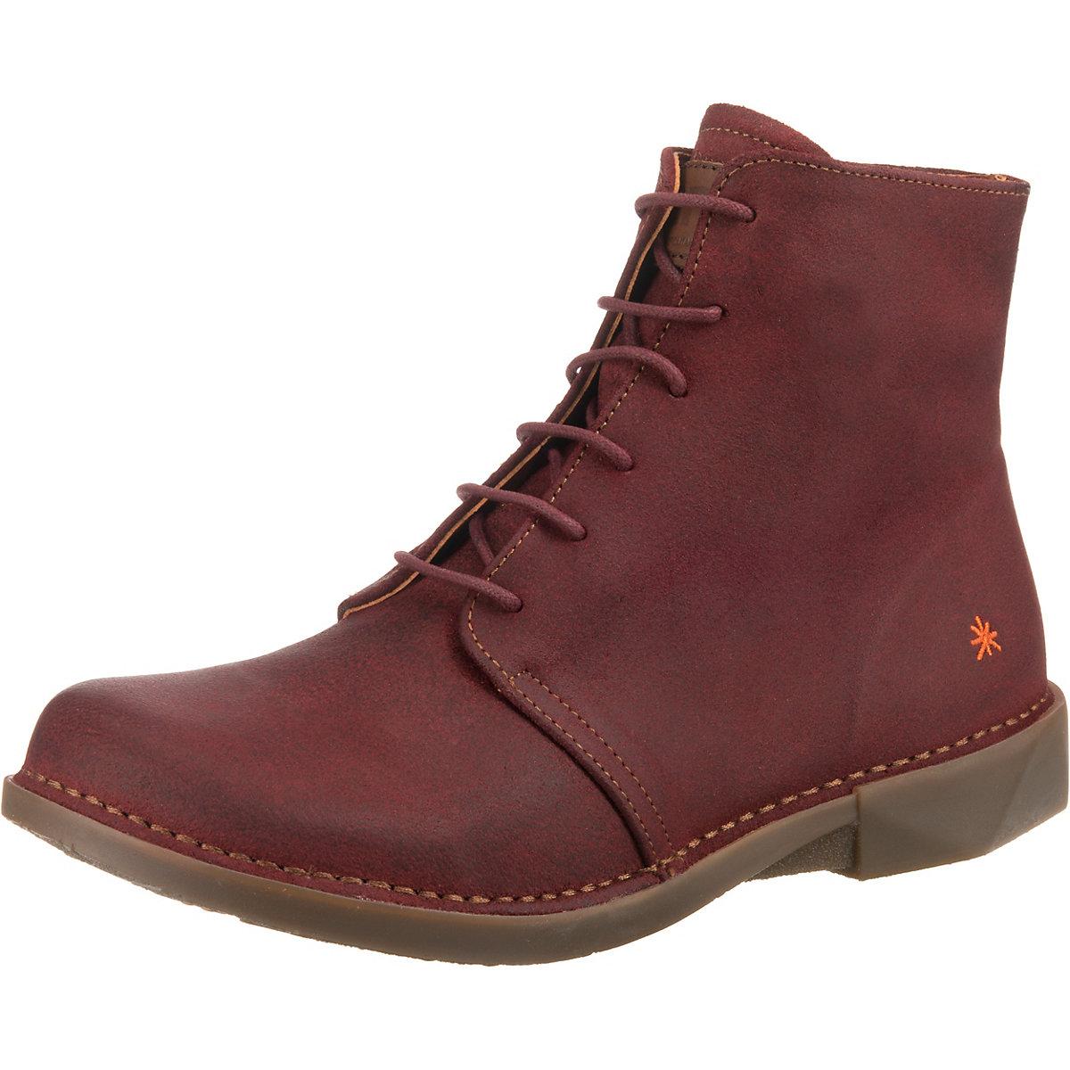 art, Schnürstiefeletten, rot  Gute Qualität beliebte Schuhe