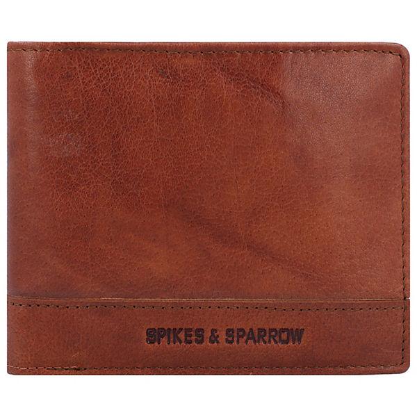 Spikes Braun And Sparrow Cm Geldbörse Rfid Leder 13 OPkXZiu