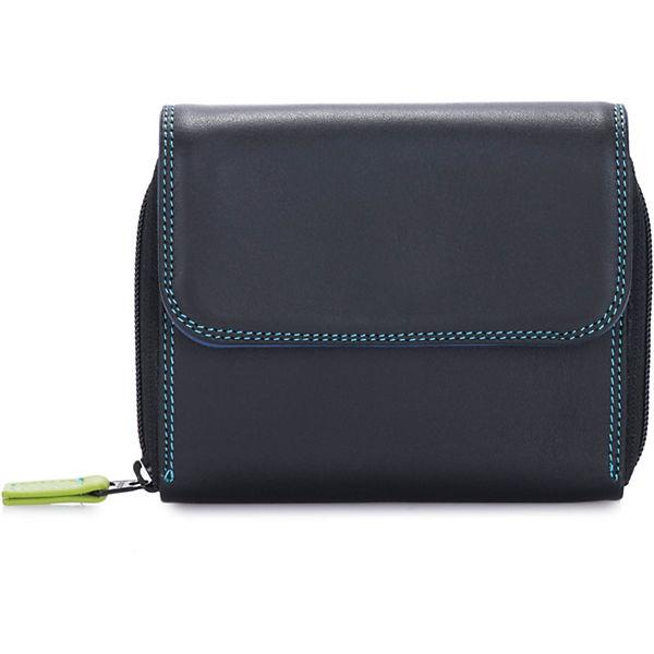 Mywalit Medium Wallet Zip Leder Cm 12 Schwarz Coin Geldbörse 3L5ARj4