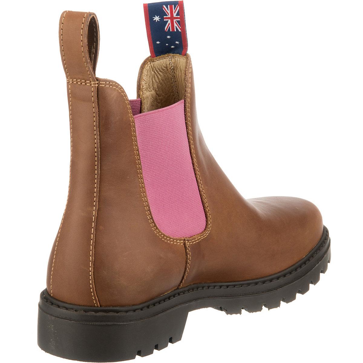 Blue Heeler, Sydney Chelsea Boots, Braun
