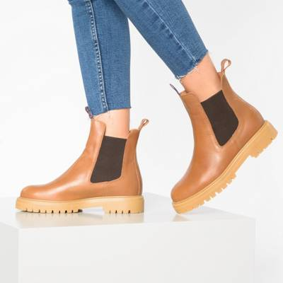 Damen sam&frieda | Tamaris, Boots, oliv, Leder, Art. Nr.: 3907