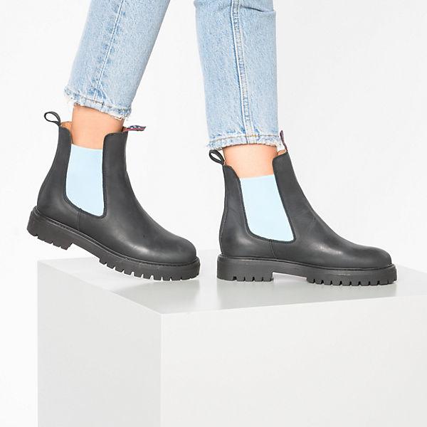 blau Schwarz Chelsea Boots Fenena Jolanaamp; TKJF1cl3