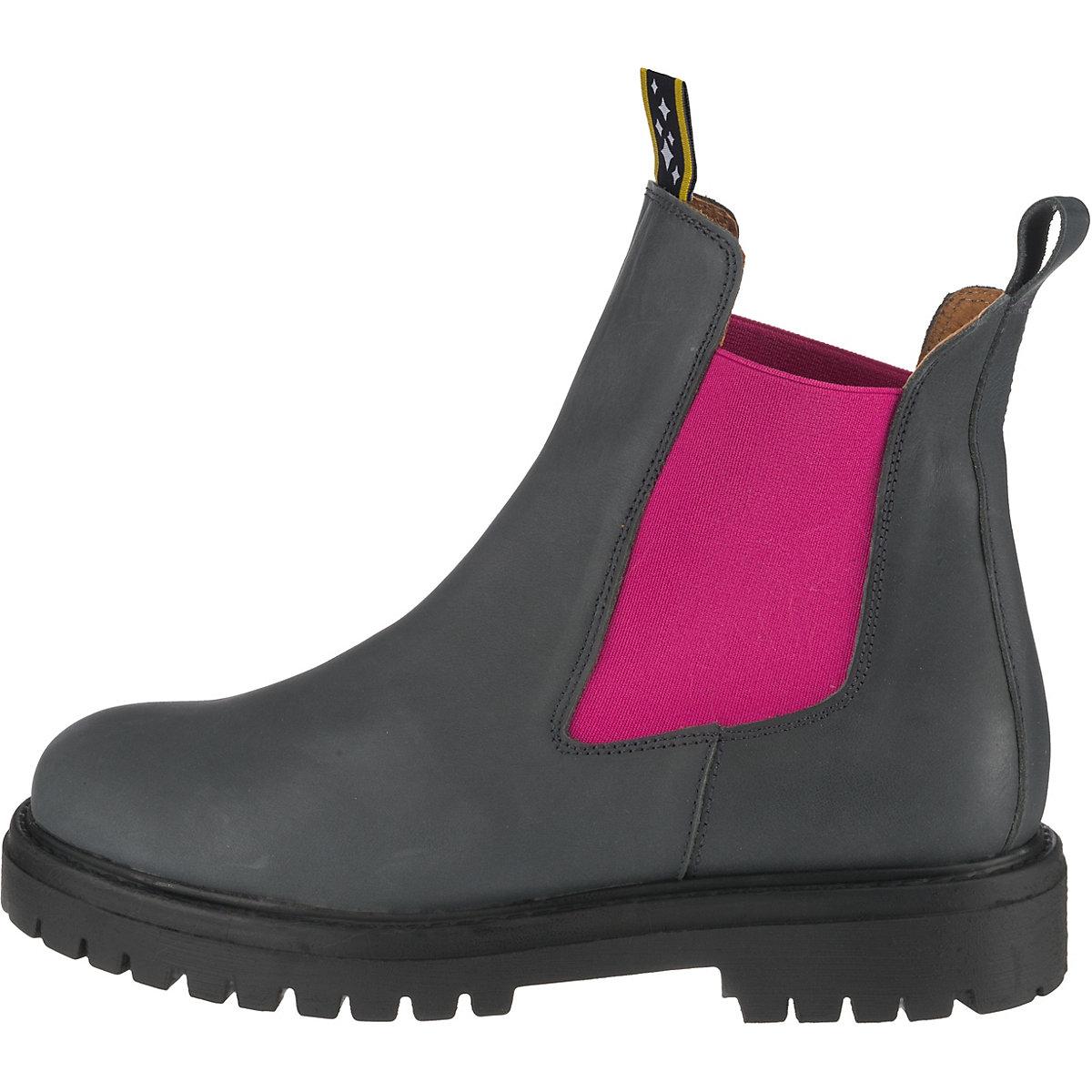 Jolana & Fenena, Chelsea Boots, Grau