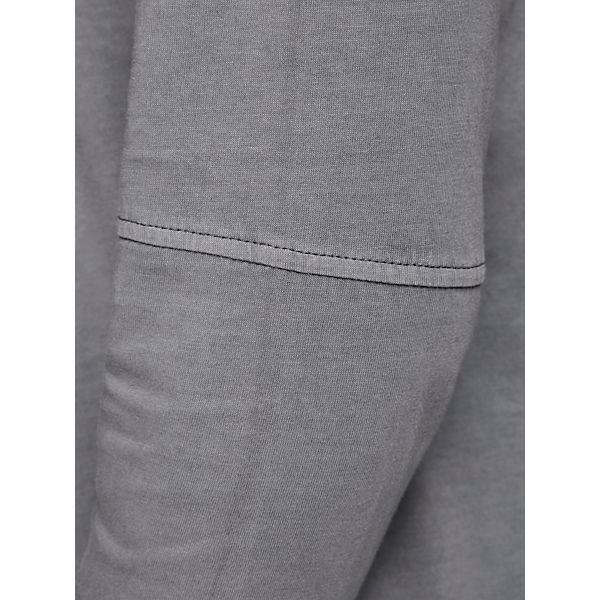 Jackamp; Schmal GeschnittenesLangärmeliges Longsleeve Premium T Grau shirts Jones txrdsQCh