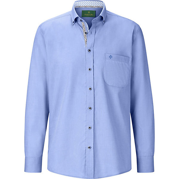 Blau Conal Colby Charles Langarmhemden Hemd vnmN8Ow0