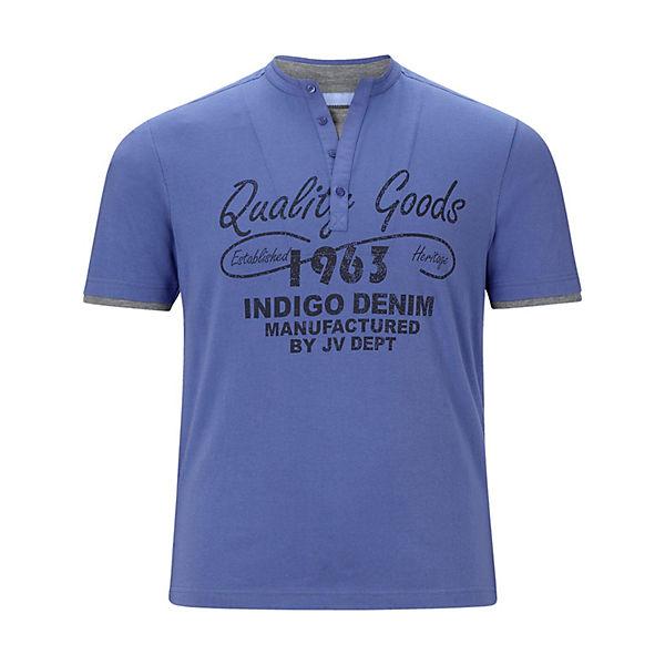 shirt Jan T shirts T Nante Vanderstorm Blau vw0OmN8n