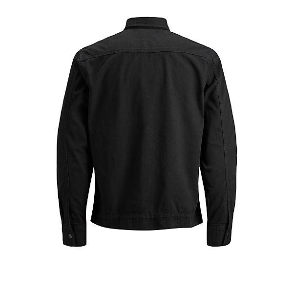 Workwear Langarmhemden Jones Jackamp; Jeanshemd Schwarz dCxBeWor