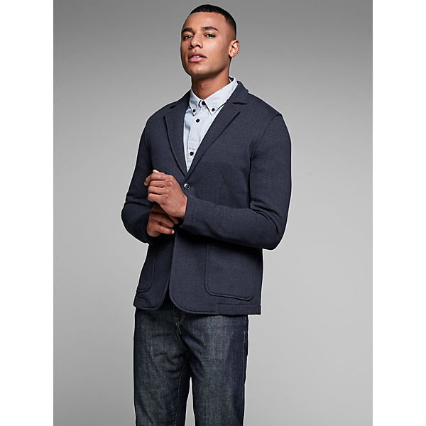 Jackamp; Premium Blau Blazer Sweat Jones Fischgrät Tlu1F3KJc