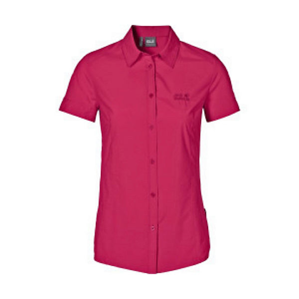 Track Kurzarmhemden Hemd Jack Wolfskin Pink xsCtQrhd