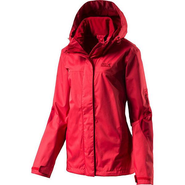 Wolfskin Onyx Jacket Outdoorjacken Rot Jack Women Jacke SVUpGqLzM