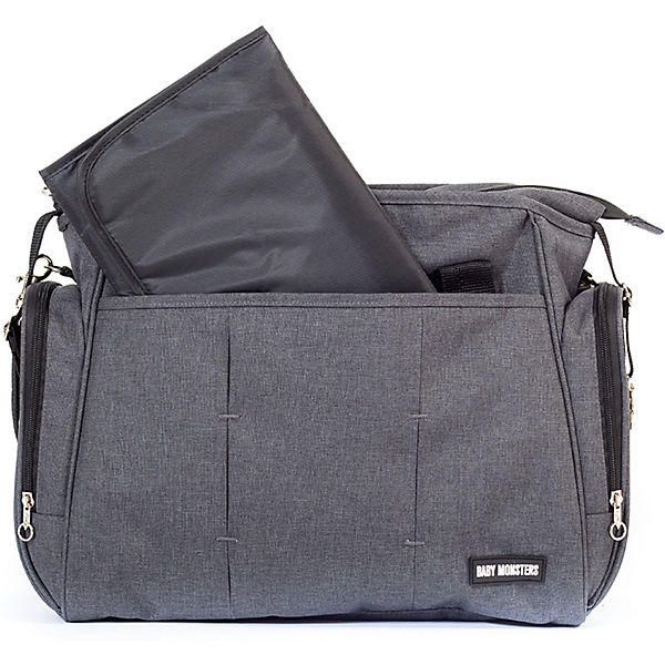 Wickeltasche Single, Grey