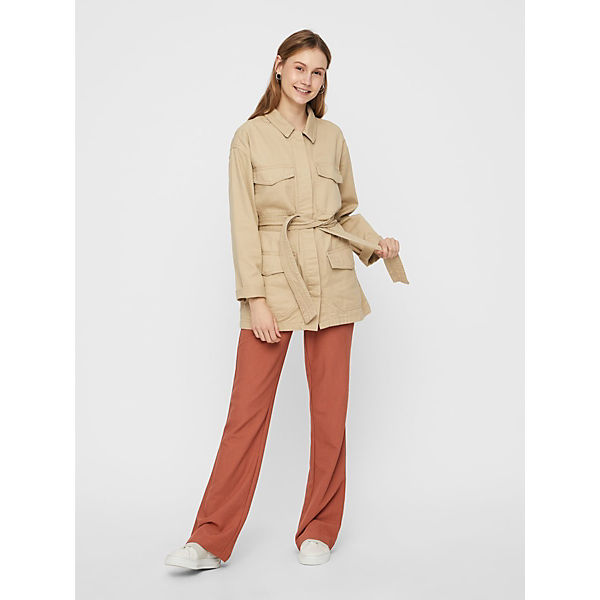 Pieces Safari Pieces Blousons Jacke Beige Safari Beige Blousons Jacke CBdeWxro