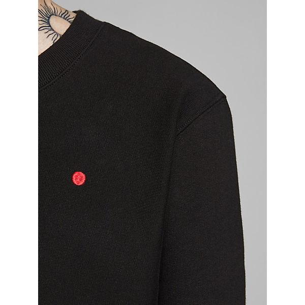 Premium Schwarz Sweatshirts Jones Jackamp; Sweatshirt Alltags BxoeCd