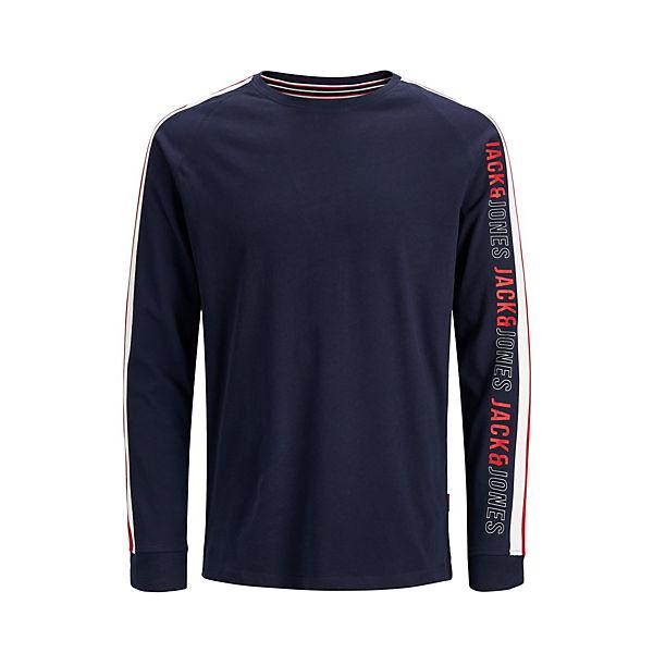 Langarm Jackamp; T T Urbanes Jones shirts Blau shirt SMzqVpU