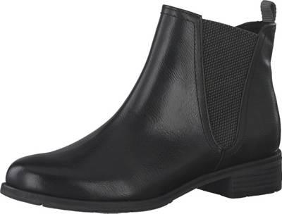 MARCO TOZZI, Chelsea Boots, schwarz | mirapodo