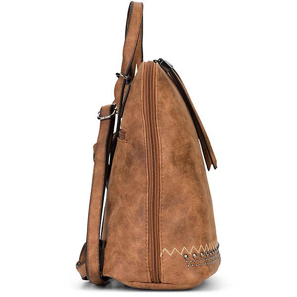 Tagesrucksäcke Rucksack No Siggi 3 Cognac Noah Emilyamp; yIYbfvg76