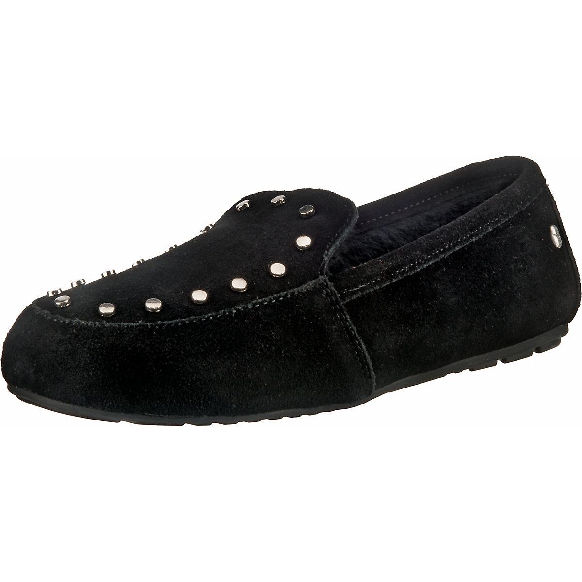 EMU Australia, Crossley Lammfell-Hausschuhe, schwarz  Gute Qualität beliebte Schuhe