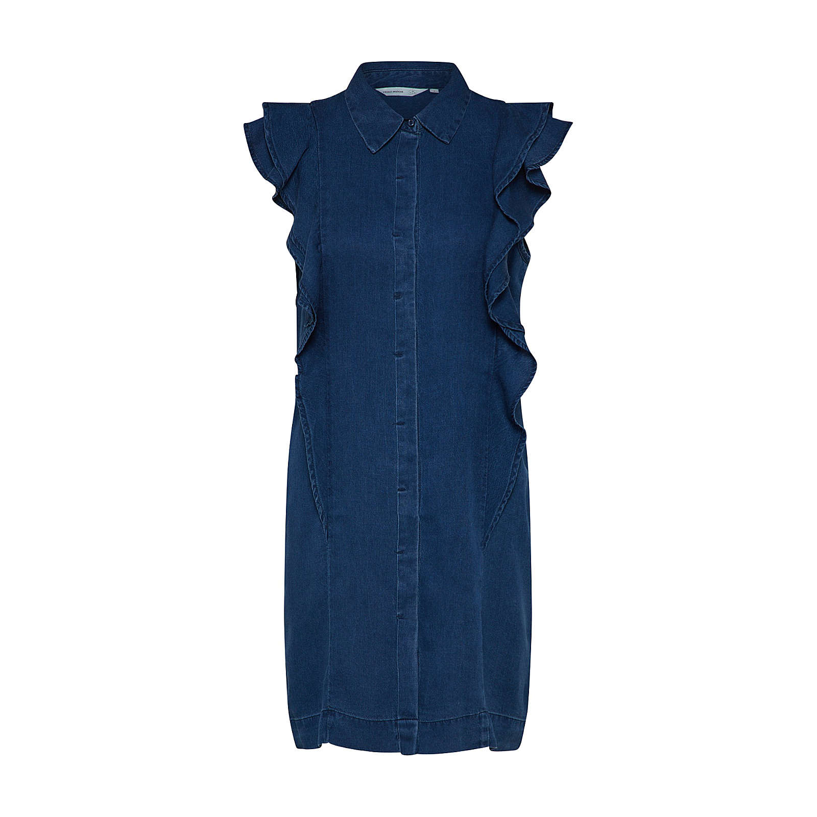 VERO MODA Kleid Jeanskleider blue denim Damen Gr. 34