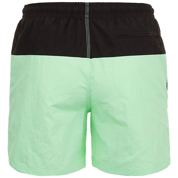Urban Classics Schwarz grün Swim Block Short Herren QdhtrCsx