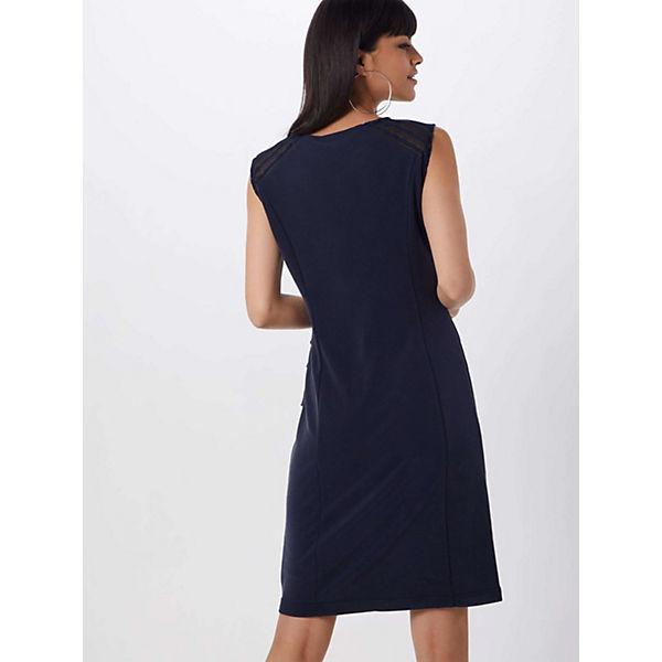 Kaffe Sommerkleider Blau Louisa Kleid Lj4R5A