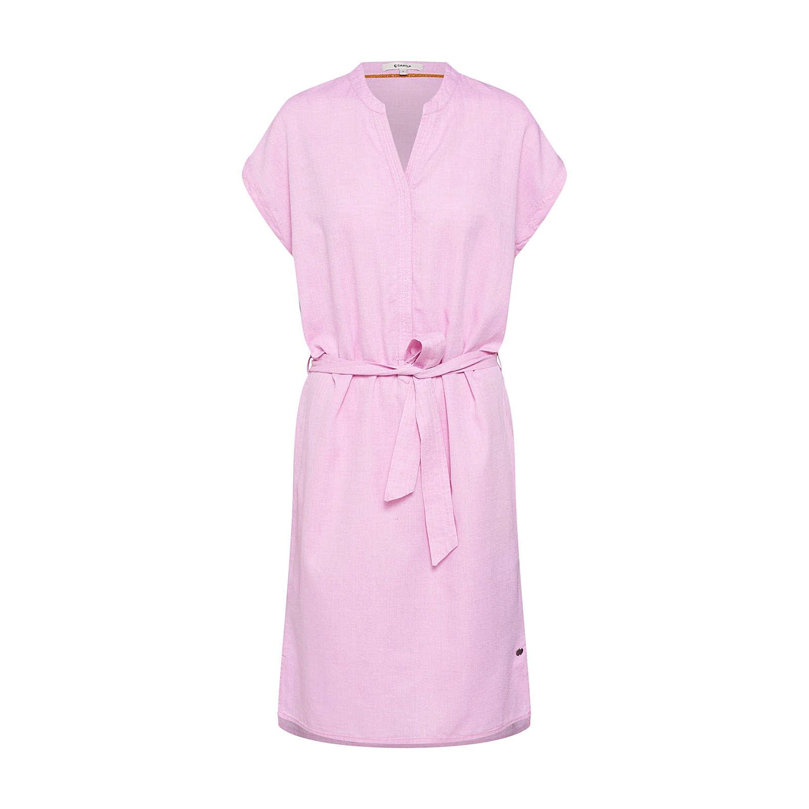 GARCIA Blusenkleid Blusenkleider pink Damen Gr. 40