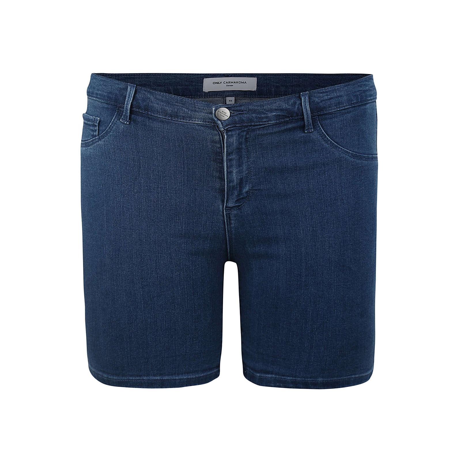 ONLY Carmakoma Hose Jeansshorts blau Damen Gr. 44