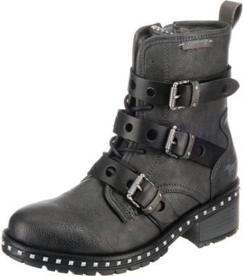 MUSTANG, Biker Boots, grau