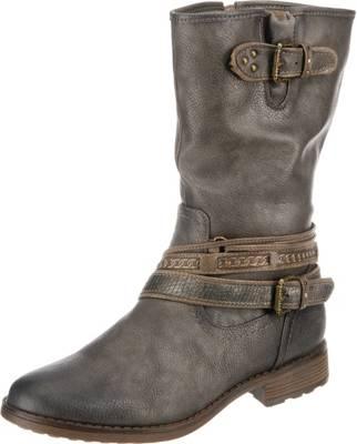MUSTANG, Klassische Stiefel, grau