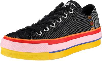 CONVERSE, Chuck Taylor All Star Lift Rainbow Sneakers Low