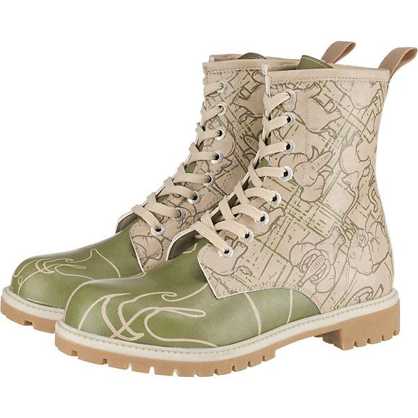 Erstaunlicher Preis Dogo Shoes Polielephant Schnürstiefel grün