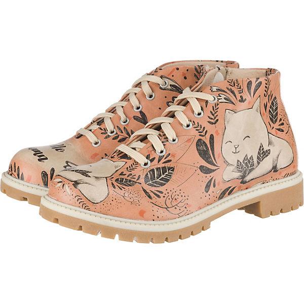 Erstaunlicher Preis Dogo Shoes Hello Autumn Schnürstiefeletten orange