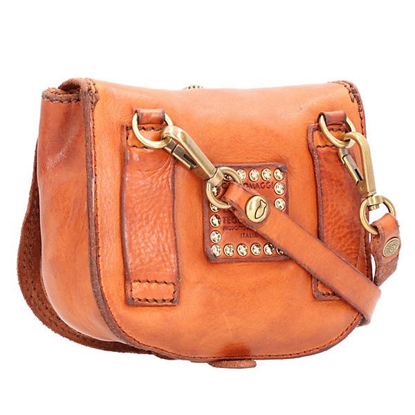 Bag Umhängetasche 16 Campomaggi Leder Braun Mini Cm SqMVUzp