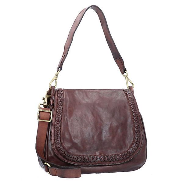 Handtasche Leder 30 Braun Cm Campomaggi E2YWH9DI