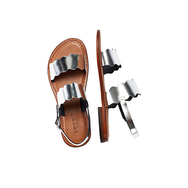 Crickit Maya Silber Sandalen Crickit Maya Sandale Sandale Sandalen m0Ow8nvN