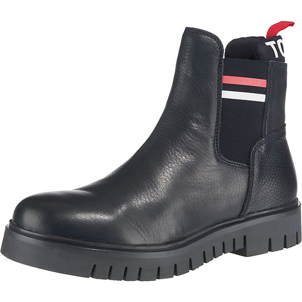 Padded Tongue Tommy Chelsea Boot Chelsea Boots