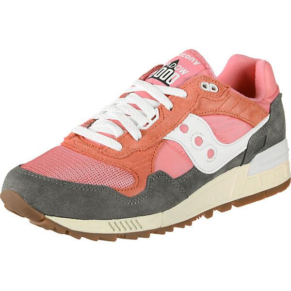 Shadow Vintage Schuhe Saucony Pink weiß Low 5000 Sneakers wkuTPiOXZ