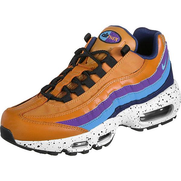 Nike 95 Sneakers Low Air Max Blau Schuhe Premium TZOPkXiu