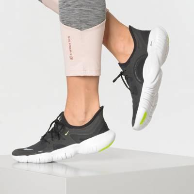 Nike Free Run 3 Männer Schuhe Grau Schwarz Weiß Exclusive