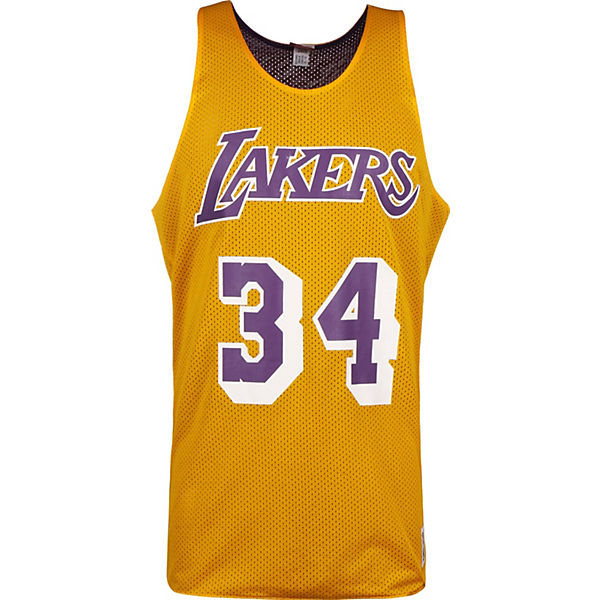 La Ness Gelb Tanktop O'neal34 Mitchellamp; Nba Tops Lakers H29WYIDE