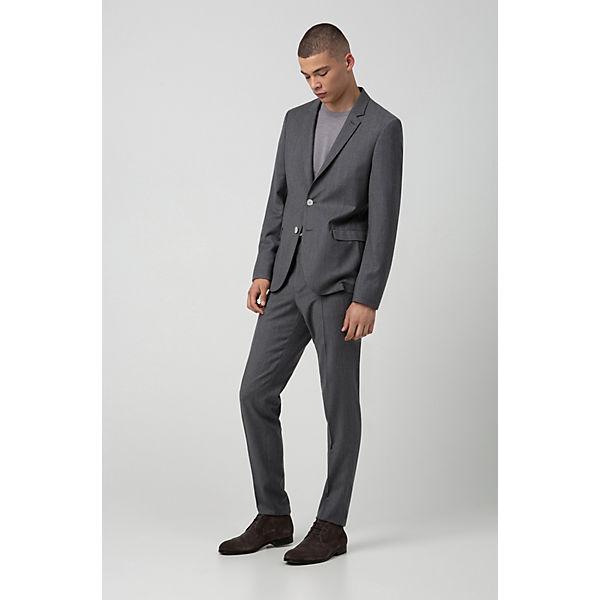HUGO, Model  Boheme Desb  Schnürstiefeletten, grau  Gute Qualität beliebte Schuhe