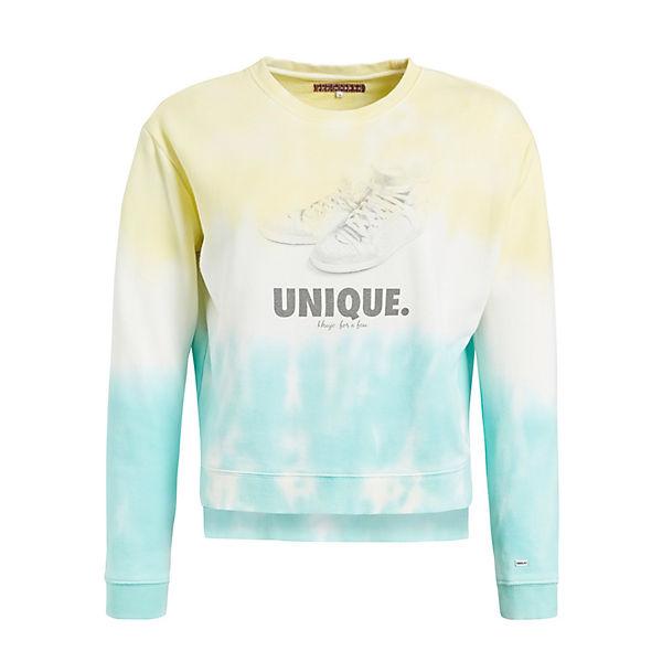 Türkis Sweatshirt Sweatshirts gelb June Khujo WHEDY29I