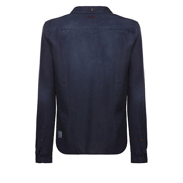 Shirt Shirt Langarmhemden Khujo Khujo Stift Dunkelblau k8OPN0wXn