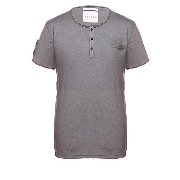 Tiberio shirts Dunkelgrau Shirt Khujo T hdQrtsC
