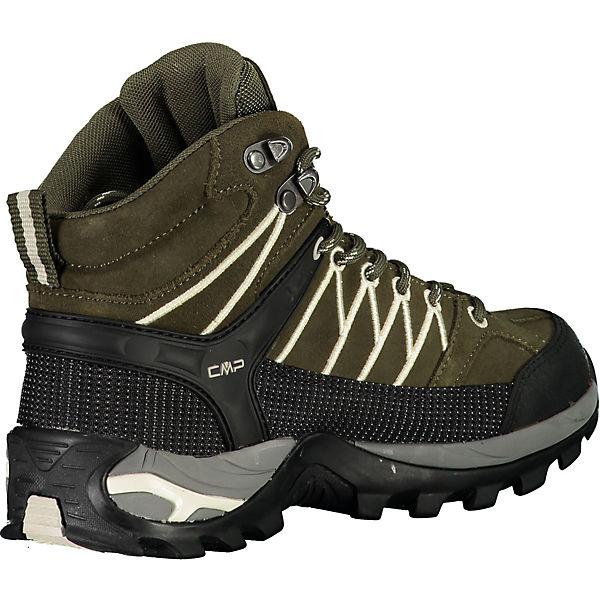 Shoes Cmp Mid Rigel Wp Wanderstiefel Dunkelgrün Trekking Wmn Rq5j34LcA