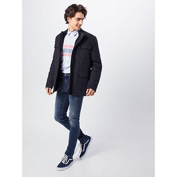 Jeanshosen Jeans Pepe Nickel Blue Denim 43L5AcRjq