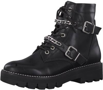 Tamaris, Biker Boots, schwarz