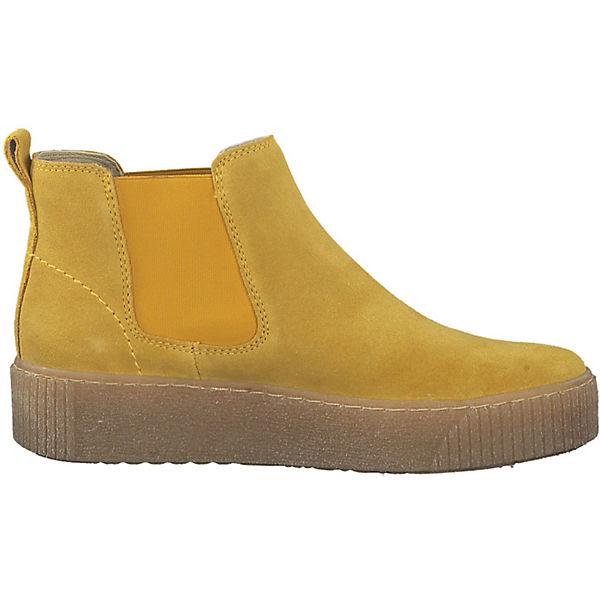 Tamaris  Chelsea Boots  gelb